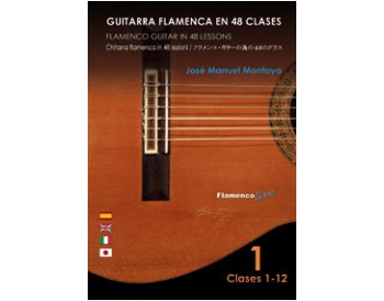 Flamenco Guitar in 48 lessons V. 1 (dvd + libreto)