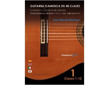 Flamenco Guitar in 48 lessons V. 1 (dvd + libreto)