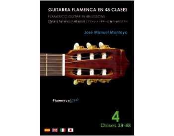 Flamenco Guitar in 48 lessons V. 4 (dvd + libreto)