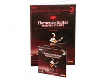 Paco Fernández - Flamenco guitar maestro classes Vol 2 (DVD+LIBRO)