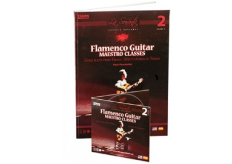 Paco Fernández - Flamenco guitar maestro classes Vol 2 (DVD+LIBRO)
