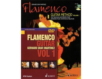 Flamenco Guitar Method. Vol. 1. Book + CD + DVD