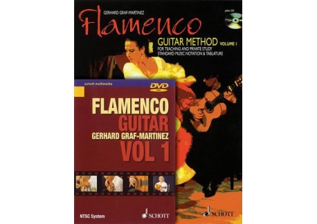 Flamenco Guitar Method. Vol. 1. Libro + CD + DVD