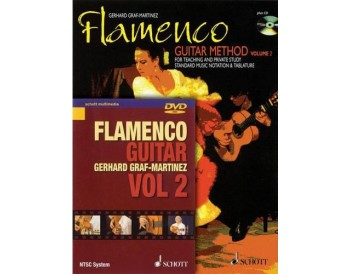 Flamenco Guitar Method Vol. 2. Book + DVD
