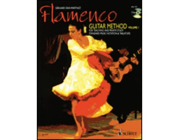 Gerhard Graf-Martinez, Flamenco Guitar Method Vol. 1 w/CD