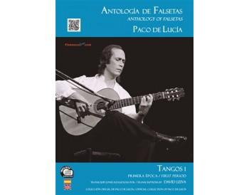 Paco de Lucía - Antología de falsetas de Paco de Lucía. Tangos 1 Primera época (Book+CD)