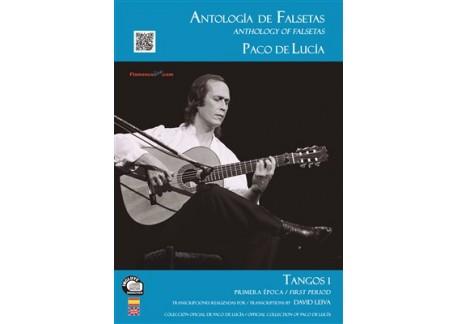 Paco de Lucía - Antología de falsetas de Paco de Lucía. Tangos 1 Primera época (LIBRO+CD)