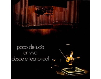 En Vivo Desde El Teatro Real - Paco de Lucía (Vinyl)