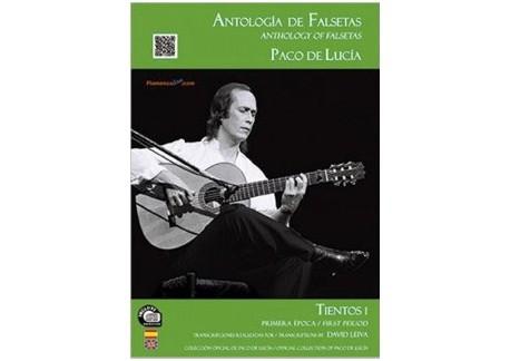 Paco de Lucía - Antología de falsetas de Paco de Lucía. Tientos 1 Primera época (LIBRO+CD)