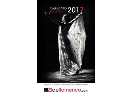 Calendario Flamenco 2017 (DeFlamenco.com)