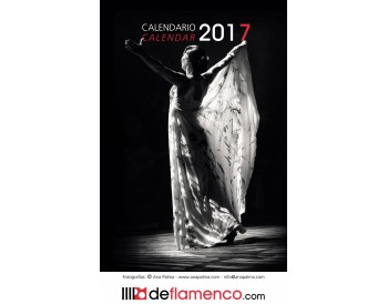 Flamenco Calendar 2017 (Pack 3 items)