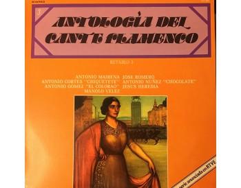 Antología del Cante Flamenco. retablo 3 (vinilo)