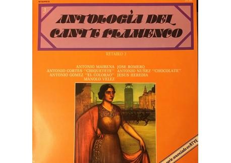 Antología del Cante Flamenco. retablo 3 (vinyl)