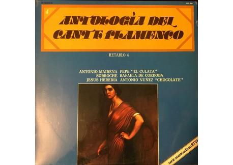 Antología del Cante Flamenco - retablo 4 (vinilo)