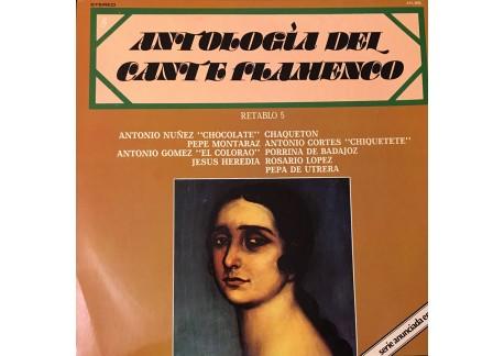 Antología del Cante Flamenco. Retablo 5 (vinilo)