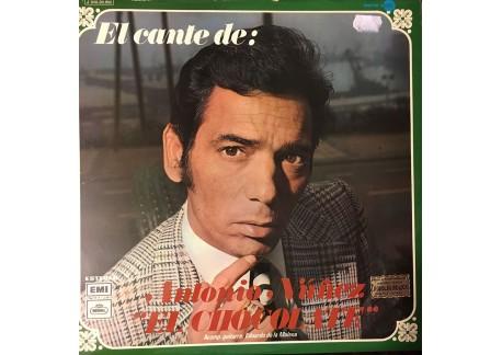 El Cante de Antonio Núñez El Chocolate (vinilo)