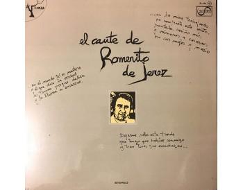 El Cante de Romerito de Jerez (vinilo)