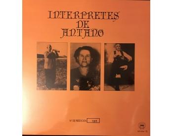 Interpretes de Antaño (vinilo)