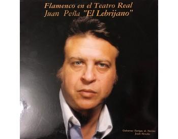 Juan Peña Lebrijano en el Teatro Real (vinilo)