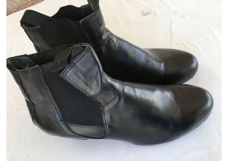 Botas caballero - mod. buleria. Piel negro - talla 44 1/2