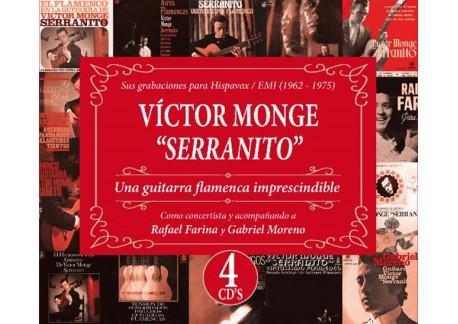 "Victor Monge ""Serranito"" - Una guitarra flamenca imprescindible (4CDs)"