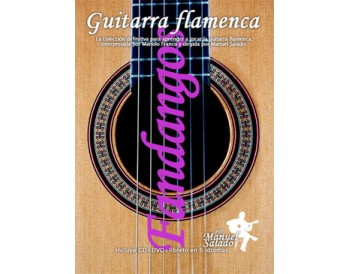 Guitarra Flamenca vol. 5. FANDANGOS. DVD + CD