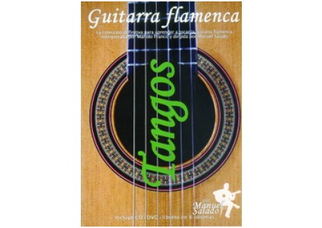 Guitarra Flamenca vol. 9. TANGOS. DVD + CD