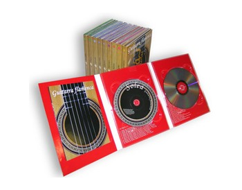 Guitarra Flamenca. Pack 10 DVD + 10 CD