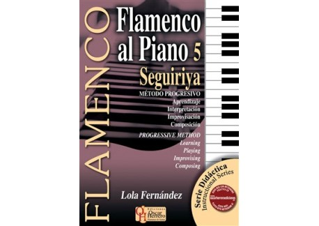 Flamenco al Piano v.5 Seguiriya - Book