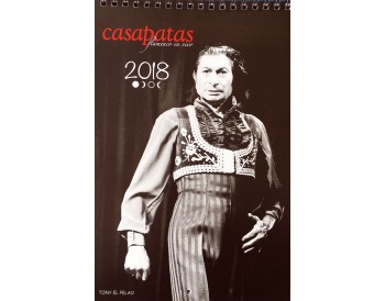 Calendario Flamenco Casa Patas 2018