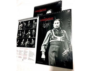 Calendario Flamenco Casa Patas 2018 (Pack 3 calendarios)