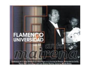 Antonio Mairena - Flamenco y universidad Vol 2 (CD)