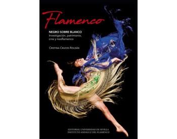 Cristina Cruces - Flamenco. NEGRO SOBRE BLANCO. (libro)