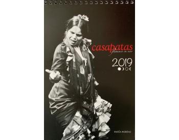 Calendario Flamenco Casa Patas 2019