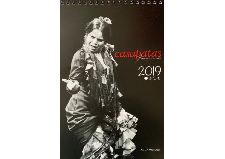 Calendario Flamenco Casa Patas 2019