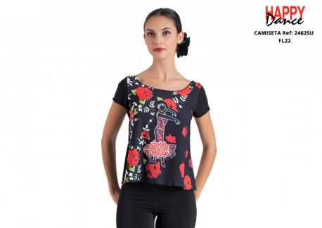 Camiseta flamenco