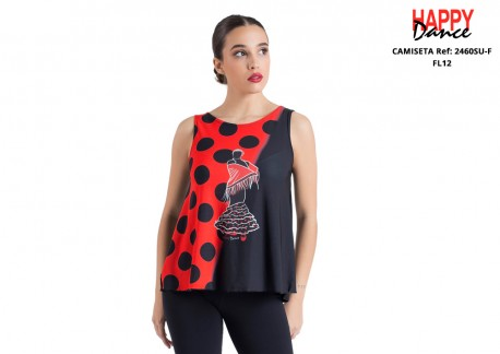 Camiseta flamenco