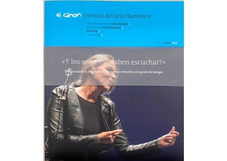 El Canon - Revista de Arte Flamenco - Rocío Márquez