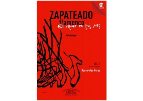 El ritmo en tus pies. Zapateado flamenco Vol 1 - Rosa de las Heras (Libro+CD)