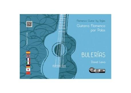 Guitarra flamenca por palos. Bulerías - David Leiva (Libro+DVD/CD)