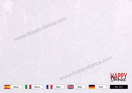 Terciopelo chafado blanco E01