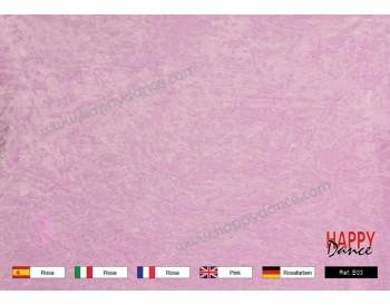 Terciopelo chafado rosa E03