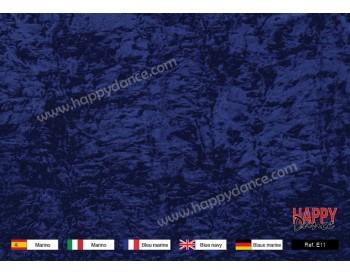 Blue Navy Chenille Velvet