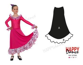 Falda flamenco EF008