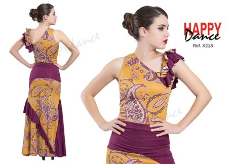Flamenco top X218