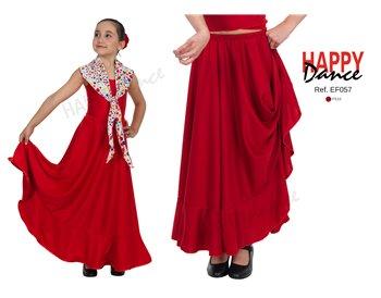 Falda flamenco EF057