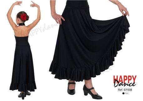Falda Flamenco EF008 monocolor