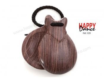 Rosewood castanets