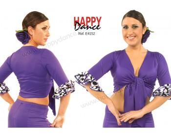 Flamenco crossover top