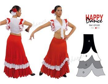 Falda flamenco EF102